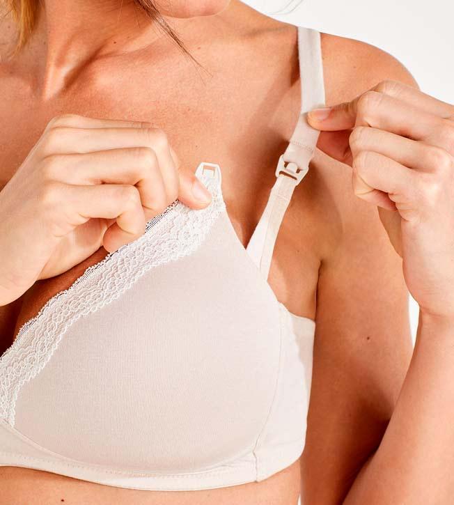 padded nursing bra