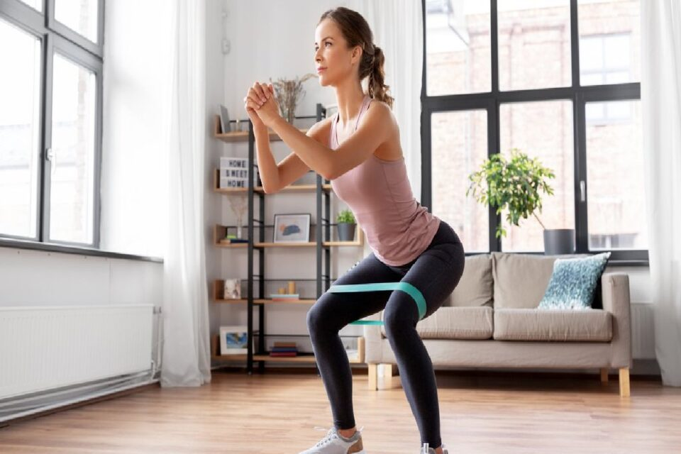 Rubber Band Exercises to Strengthen The Muscles